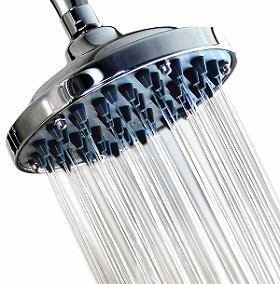 6 Inch High-Pressure Rainfall Massage Shower Head