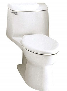 American Standard 2462016.020 Cadet Elongated Pressure Assisted Two Piece Toilet