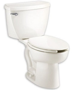 American Standard 2467.016.020 Cadet Right Height Elongated Pressure Assisted Two Piece Toilet