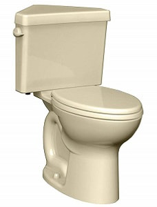 American Standard 270AD001.021 Cadet 3 Right Height Elongated Two-Piece Triangle Toilet