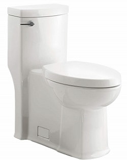 American Standard 2891128.020 Boulevard Flowise Right Height Elongated One-Piece 1.28 Gpf Toilet