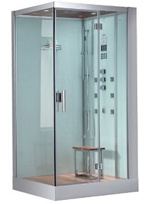Ariel Platinum DZ959F8-W-R Steam Shower