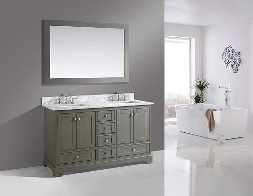 Bathroom Sink Vanity Set with White Italian