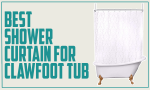 Best Shower Curtain for Clawfoot Tub