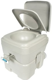 Camco Portable Travel Toilet for Camping