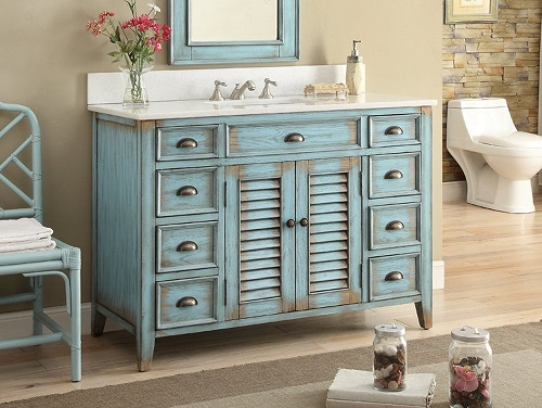 Cottage look Abbeville Bathroom Sink vanity