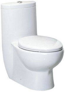 EAGO TB309 Tall Dual Flush Eco-Friendly Ceramic Toilet