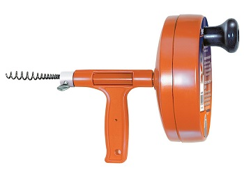 General Pipe Cleaners R-25SM Spin Thru Drain Auger