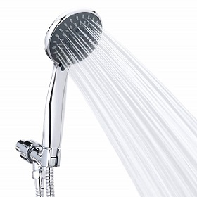 Handheld Shower Head Pressure 5 Spray Settings