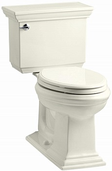 KOHLER K-3817-96 Memoirs Stately Comfort Height Two-Piece Elongated Toilet