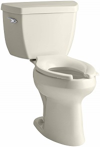 Kohler K-3493-47 Highline Classic Pressure Lite Comfort Height Elongated Toilet
