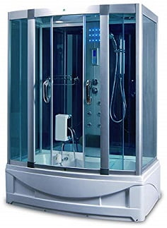 Luxury KBM 9001 Freestanding Steam Shower