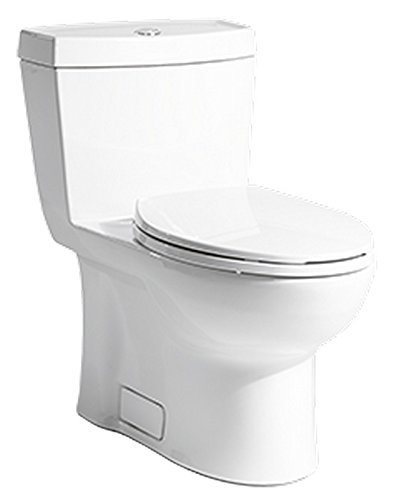 Niagara N7711 Niagara Stealth 0.8 GPF Single Flush Elongated One-Piece Toilet