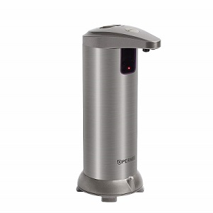 OPERNEE Soap Dispenser, Automatic Hands Free Fingerprint Resistant Stainless Steel