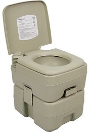 Palm Springs Outdoor 5-Gallon Portable Camping and Recreation Toilet