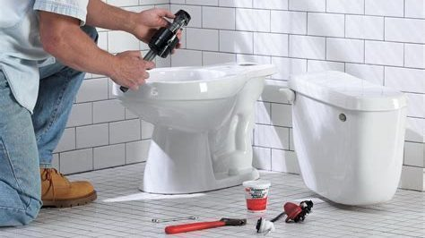 Place the New Toilet