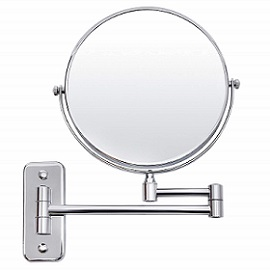 SONGMICS 7x Magnifying Wall Mount Makeup Mirror