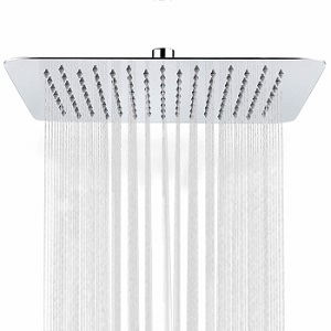 SR SUN RISE Luxury 12 Large Square High Pressure Rainfall Shower Head