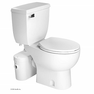 Saniflo Saniaccess 2 Upflush Macerator Pump + Round Toilet Kit