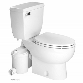 Saniflo Sanibest Pro Macerating Upflush Toilet
