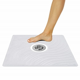 Shower Mat by Vive - Square Bath Mats