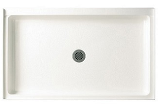 Swanstone R-3454-010 34 x 54 x 5.5 Inches Single Threshold Shower Base