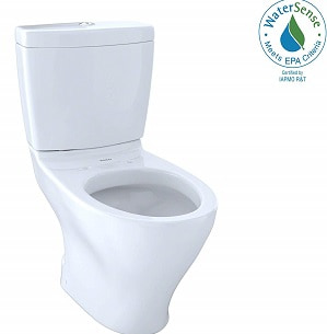 TOTO CST412MF.01 Aquia Dual Flush Elongated Two-Piece Toilet