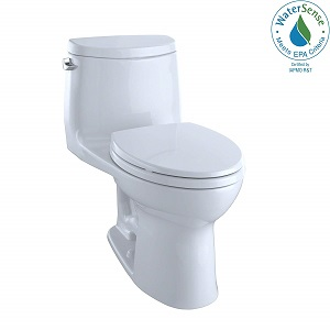 TOTO MS604114CEFG#01 UltraMax II One-Piece Elongated Toilet