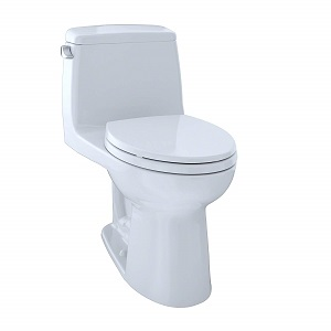 TOTO MS854114S#01 Ultramax Elongated One Piece Toilet