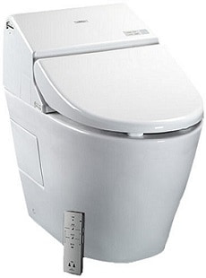 Toto MS970CEMFG#01 1.28-GPF 0.9 GPF Washlet with Integrated Toilet G500