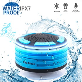 Wireless Waterproof Bluetooth Speaker Shower Radios